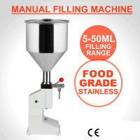 Manual filling machine 5- 50 ml