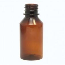 Bottle PET 120 ml, 28/410, brown